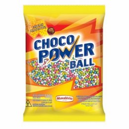 Cereal micro colorido choco power ball 500g - Mavalério
