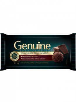 Chocolate meio amargo genuine 2,1 kg